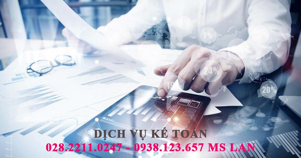 Dịch vụ kế toán quận 7 trọn gói